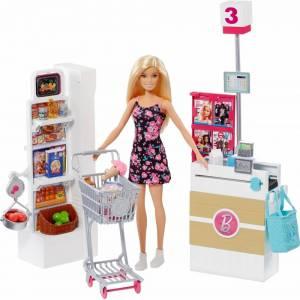 Набор Barbie в супермаркете,