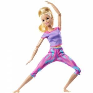 """Кукла Barbie Барби Блондинкаиз серии """"Двигайся как я, безграничные движения"""""""
