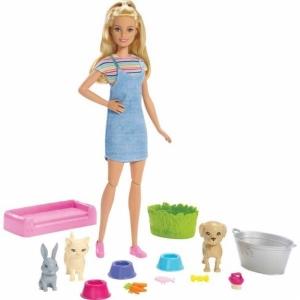 Набор игровой Barbie Барби и домашние питомцы