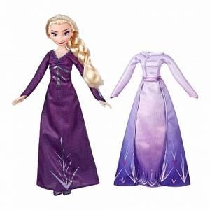 Кукла Эльза с дополнительным нарядом из серии Disney Princess Холодное сердце 2, Hasbro,