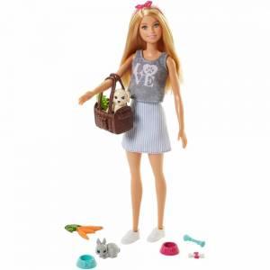 Набор Barbie  Барби с животными