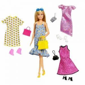 "Barbie (Mattel) Barbie Кукла Барби ""Мода с аксессуарами"""