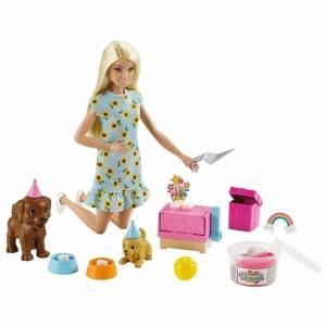 Набор Barbie кукла+питомцы Вечеринка