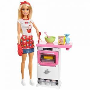 Игровой набор Barbie® - Кондитер, Mattel, FHP57