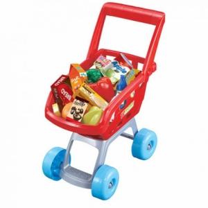Тележка для покупок с продуктами для самых маленьких