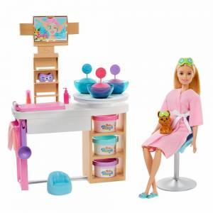 Игровой набор Barbie Барби СПА-салон— пора расслабляться!